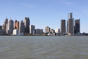 Detroit Michigan from Windsor